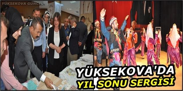 Yüksekova'da Yıl Sonu Sergisi