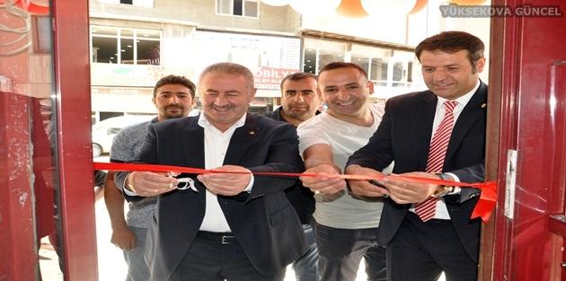 Yüksekova'da ''Yüksekova Pilavcısı'' Adlı İş Yeri Açıldı