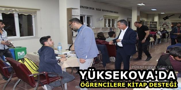 Yüksekova'daki öğrencilere kitap desteği
