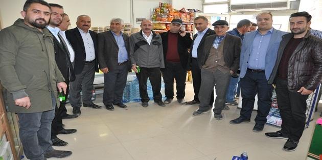 YÜTSO'dan Esnaf ziyareti