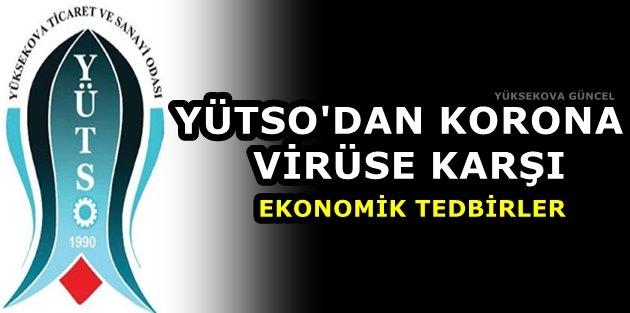 YÜTSO'dan Korona Virüse Karşı Ekonomik Tedbirler