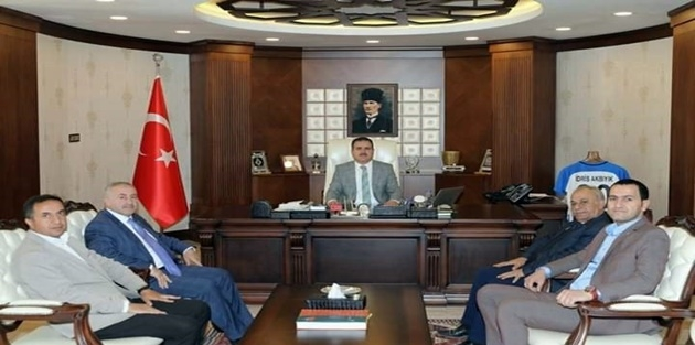 YÜTSO'dan Vali Akbıyık'a ziyaret