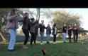 Yüksekovalı Girişimci Gençler, Açık Havada Önce Toplantı, Sonra Doyasına Halay Çektiler