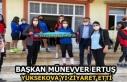 Başkan Münevver Ertuş, Yüksekova'yı ziyaret...