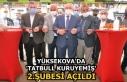 Yüksekova'da 'Tatbull Kuruyemiş'...