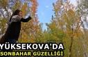 Yüksekova'da sonbahar güzelliği