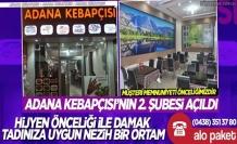 Adana Kebapçısı'nın 2. Şubesi açıldı