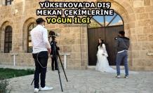 Yüksekova'da Dış Mekan Çekimlerine Yoğun İlgi