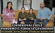 Yüksekova'da Örnek Aile