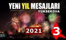 Yüksekova yeni yıl mesajları (3) - 2021