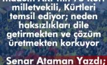 'ADALETSİZLİK SORUNLARA YOL AÇAR'