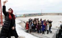 41 iş kadını Van'ı gezdi