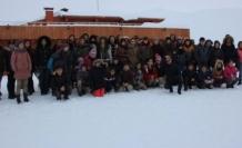 Hakkâri'de Okullar Arası Alp Disiplini Kayak Yarışması