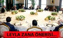 Leyla Zana önerisi...