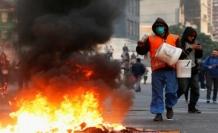 Şili'de Pinochet'ten sonra ordu ilk defa sokakta