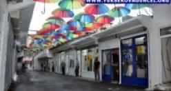 Yüksekova'da 'Şemsiye Halk Pazarı' Açıldı