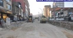 Yüksekova Cengiz Topel Caddesinde Yol Çalışması Başladı
