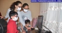 Yüksekovalı Kardeşlere Bilgisayar Desteği