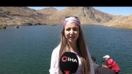3 bin 400 rakımda bulunan Sat Buzul Göllerine doğa yürüyüşü - Yüksekova