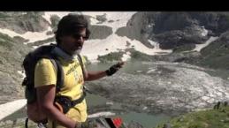 Yüksekovalı dağcılar 20 bin yıllık buzulları gezdi