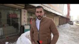Yüksekovalı Gençler Kardan Kanepe, Buzdolabı Ve Çamaşır Makinesi Yaptı