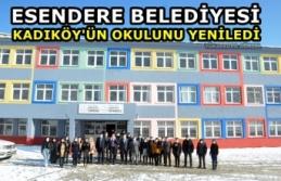 Esendere Belediyesi Kadıköy'ün Okulunu Yeniledi