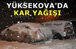 Yüksekova Beyaza Büründü