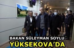 Bakan Süleyman Soylu Yüksekova'da