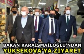 Bakan Karaismailoğlu'ndan Yüksekova'ya...