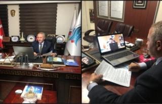 Başkan Pınar, TOBB Başkanı Hisarcıklıoğlu'nun...