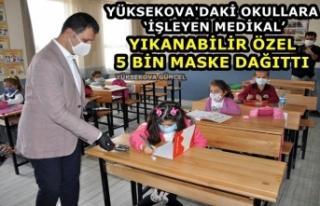 Yüksekova'daki Okullara 'İşleyen Medikal'...