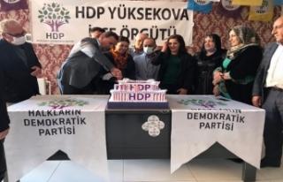 Yüksekova HDP 8'inci Yıl Dönümünü Kutladı