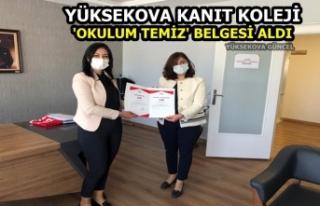 Yüksekova kanıt koleji 'okulum temiz'...