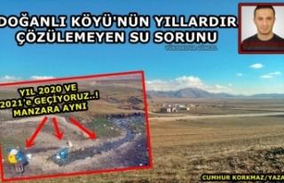 Doğanlı Köyü'nün Yıllardır Çözülemeyen...
