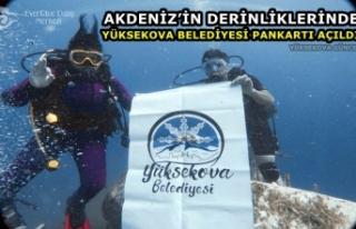 Akdeniz'in Derinliklerinde 'Yüksekova Belediyesi'...