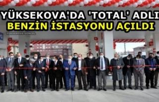Yüksekova'da 'Total' Adlı Benzin...