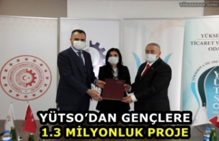 YÜTSO'dan Gençlere 1.3 Milyonluk Proje