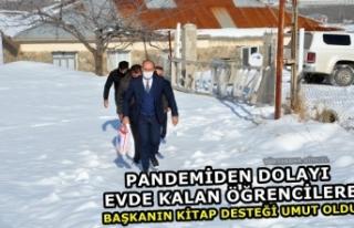 Pandemiden Dolayı Evde Kalan Öğrencilere Başkanın...