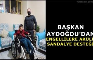 Başkan Aydoğdu'dan Engellilere Akülü Sandalye...