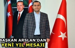 Başkan Arslan'dan Yeni Yıl Mesajı