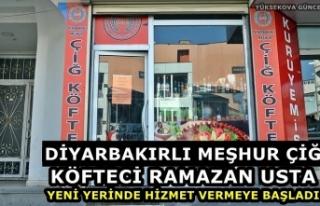 Diyarbakırlı meşhur çiğ köfteci Ramazan usta,...