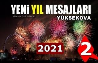 Yüksekova yeni yıl mesajları (2) - 2021