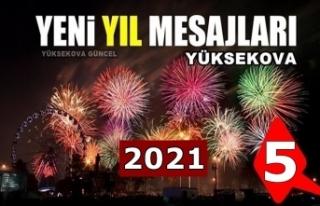 Yüksekova yeni yıl mesajları (5) - 2021