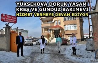 Yüksekova Doruk yaşam Kreş ve Gündüz Bakımevi...