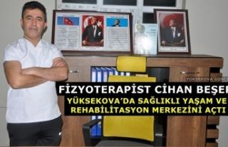 Fizyoterapist Cihan Beşer, Yüksekova'da Sağlıklı...