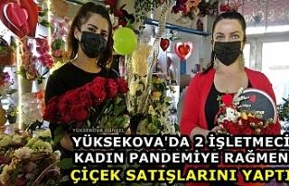 Yüksekova'da 2 İşletmeci Kadın Pandemiye...