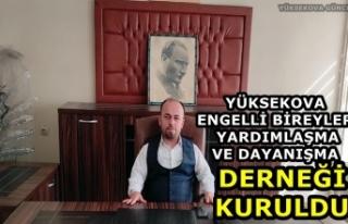 Yüksekova Engelli Bireyler Yardımlaşma ve Dayanışma...