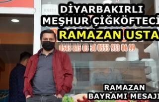 Diyarbakırlı Meşhur Çiğköfteci Ramazan Usta'dan...