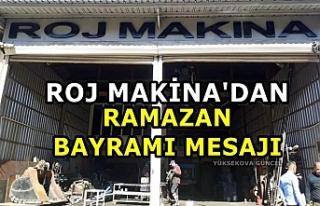 Roj Makina'dan Ramazan Bayramı Mesajı