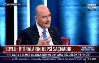 Soylu: Türkiye bir operasyona tabi tutuluyor, hedef...